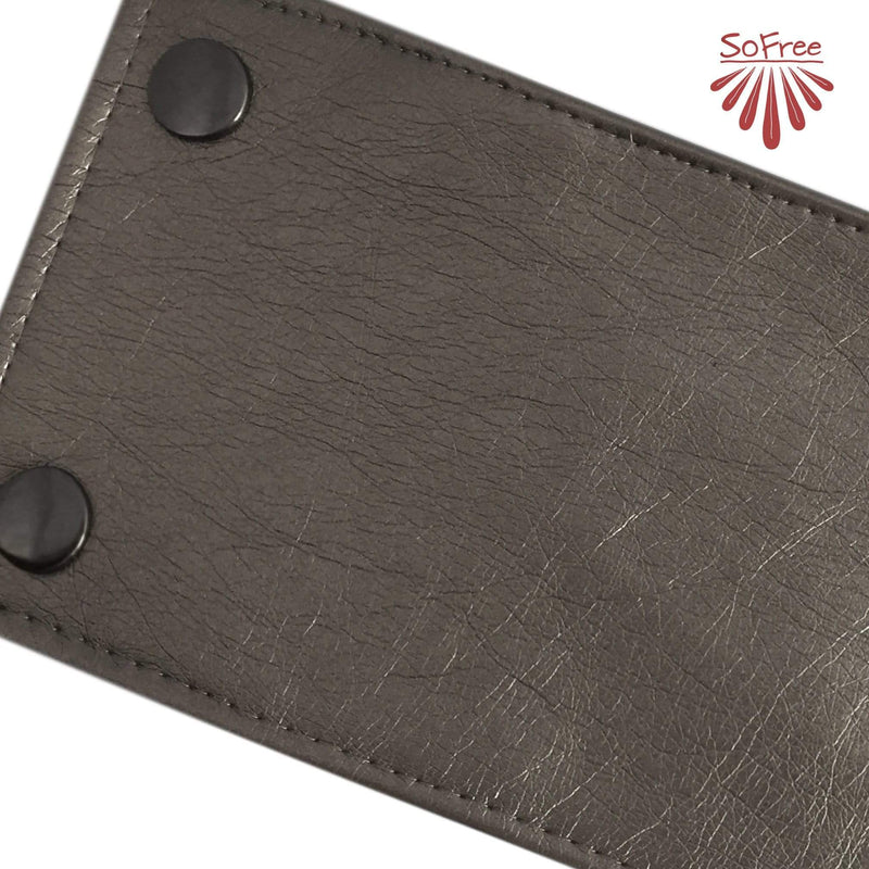 Metallic Vegan Leather Wrist Wallet By SoFree Creations