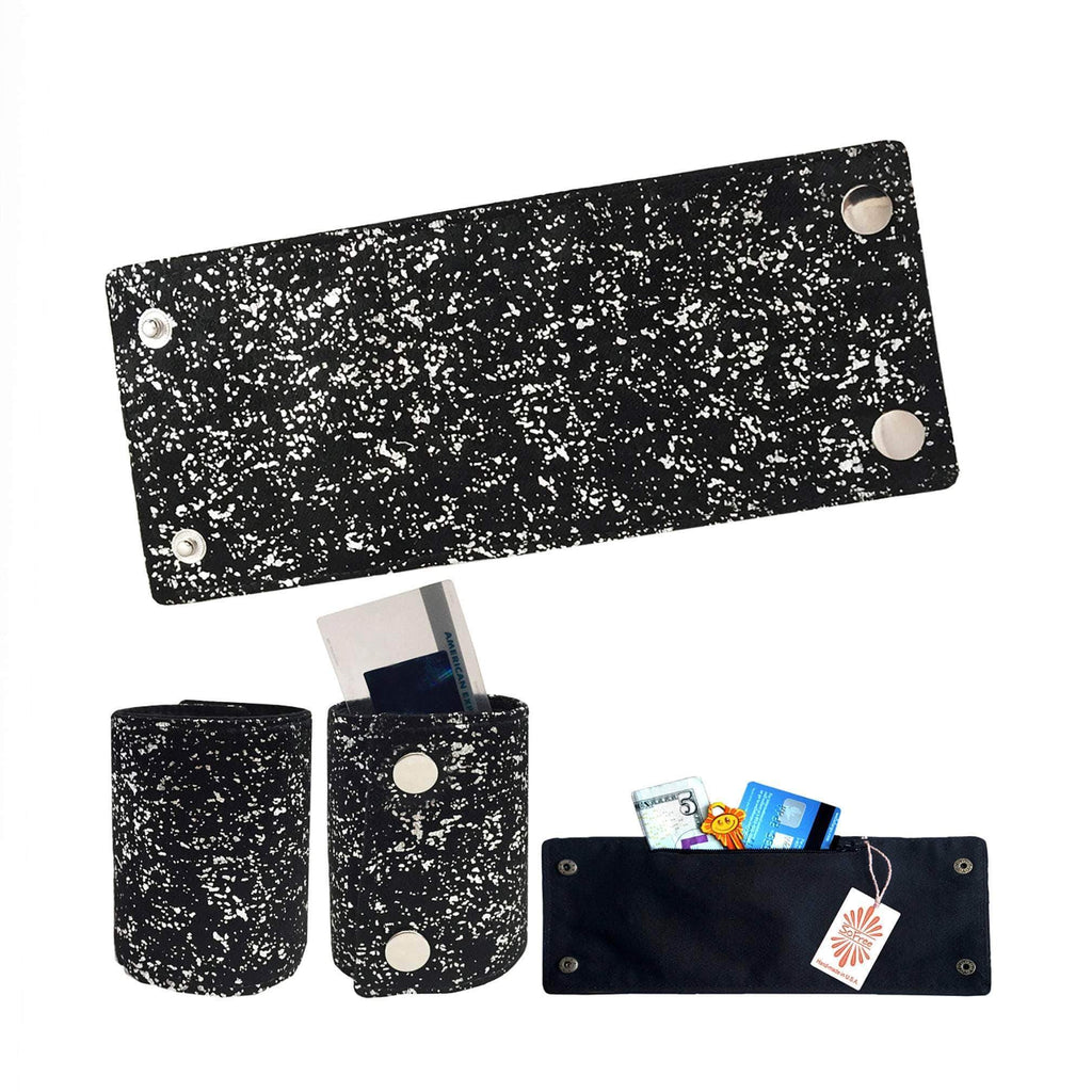 Silver Sparkles Wrist Wallet by SoFree Creations