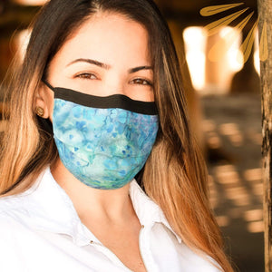 SoFree Creations Face Mask Fashionable Face Mask with Filter Pocket - 100% Cotton Batik 3