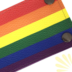 SoFree Creations Wrist Wallet Gay Pride Flag Wrist Wallet BFL8