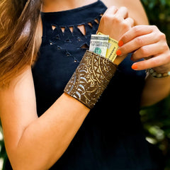 Wrist Wallets for sneaking weed into concerts