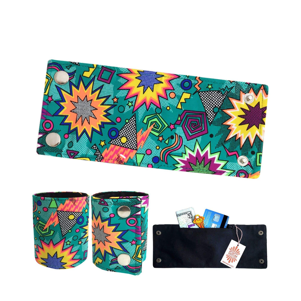 SoFree Creations Wrist Wallet POW Lycra Wrist Wallet