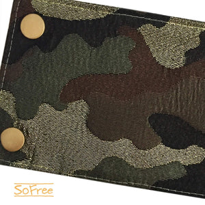 Shiny Camo Wrist Wallet by SoFree Creations
