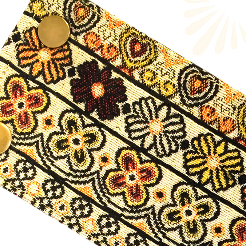 SoFree Creations Wrist Wallet Thai Fabric Wrist Wallet