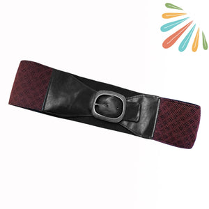 SoFree Creations Travel Belt with Secret Pockets | Batik 6