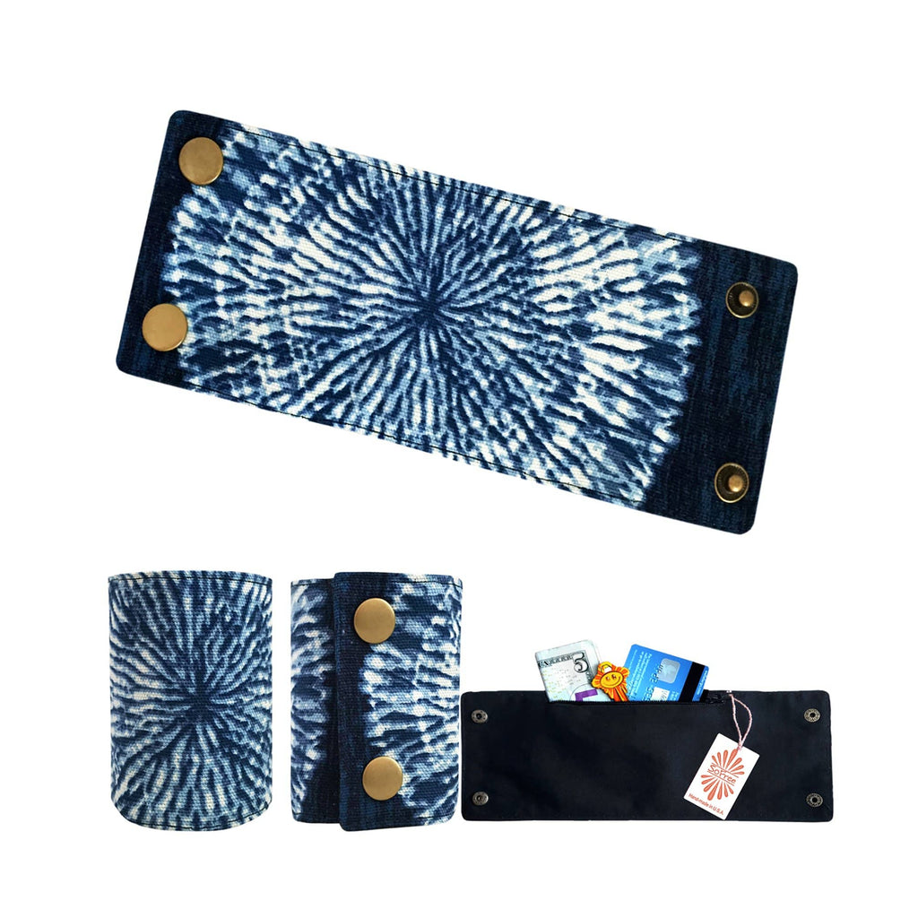 SoFree Creations Wrist Wallet Vintage Blue  Wrist Wallet