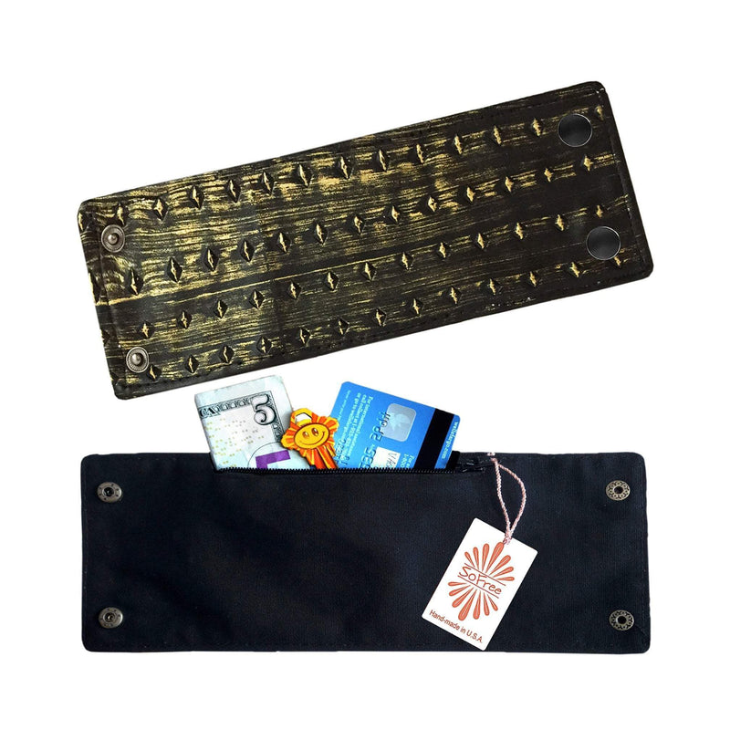 Rocker Wrist Wallet By SoFree Creations