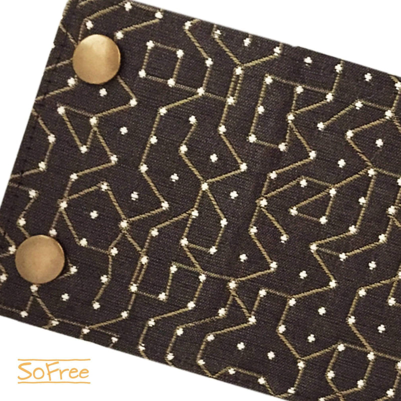Cyber Print Wrist Wallet by SoFree Creations