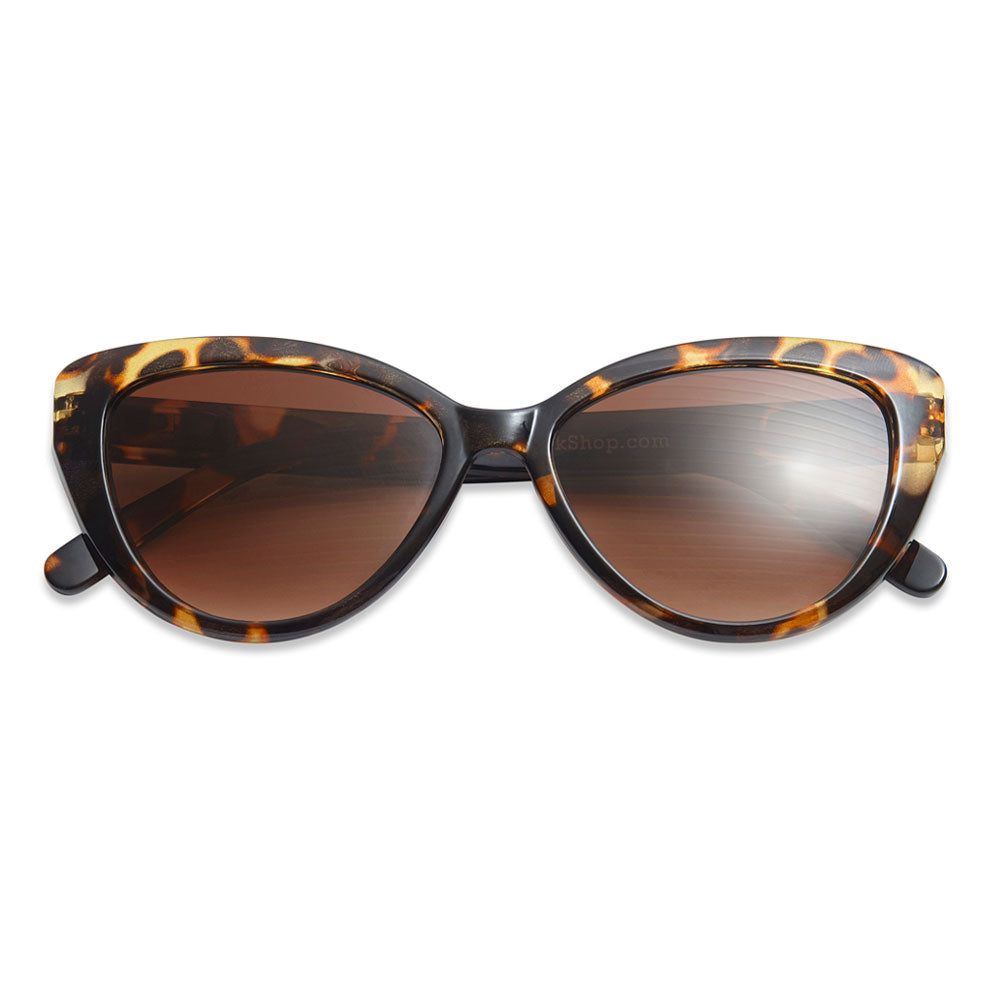 Have a Look Solbriller Cat Eye Tortoise