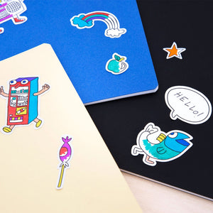 OMY Coloring Stickers
