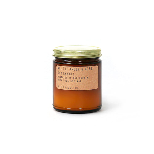 P.F. Candle Co Soja Duftlys No. 11 Amber & Moss