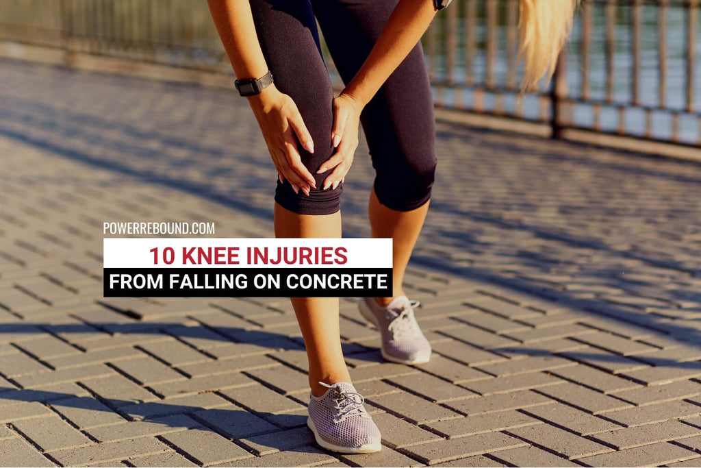 10 Knee Injuries From Falling on Concrete