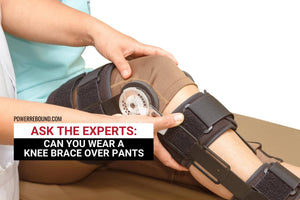 Ask the Experts: Can You Wear a Knee Brace Over Pants?