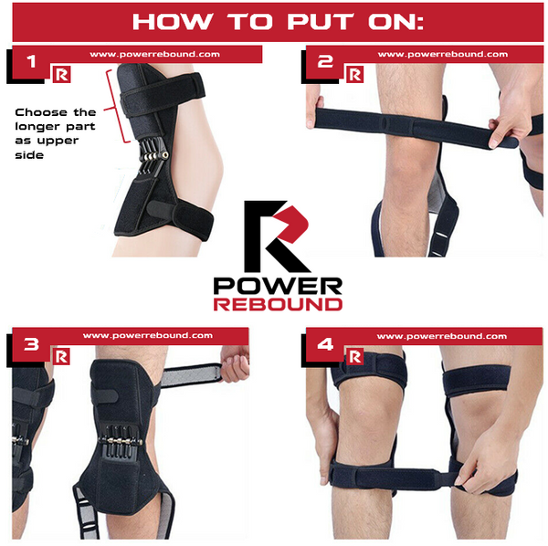 Power Rebound Knee Pads Instructions