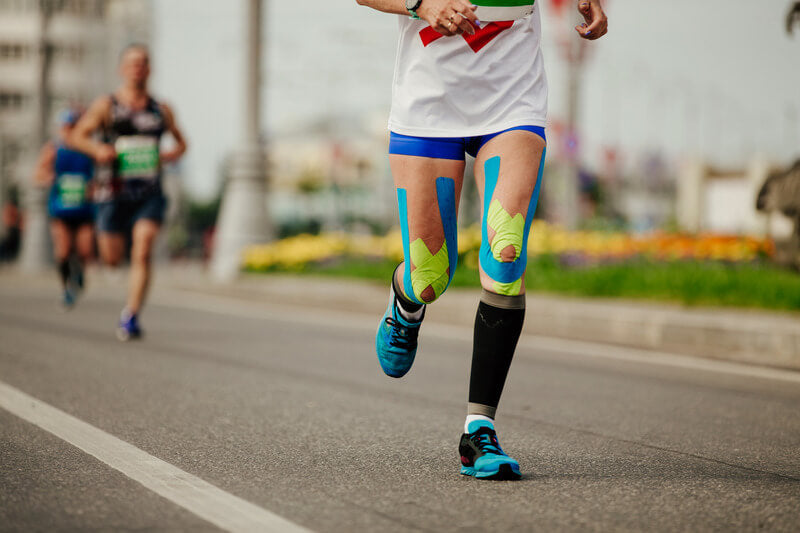 Runner-with-Tape-on-Knees