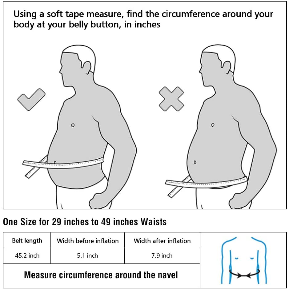 decompression-back-belt-measurement