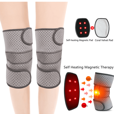 Self-Heating-Knee-Supports-Pair