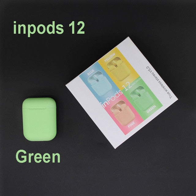 inpods 12 earphone Tws Wireless Bluetooth
