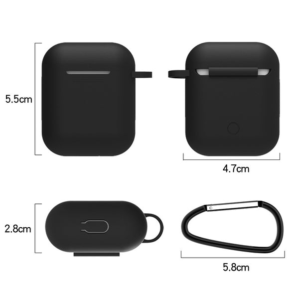 Earphone Case For Apple AirPods 2 Silicone Cover