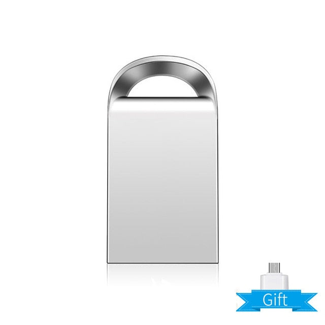 Mini usb flash drive metal USB 3.0 32GB 64GB 128GB pendrive