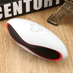 Portable Wireless Bluetooth Music Speaker Tf Subwoofer