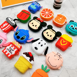 Silicone Cartoon Cover for Apple Air pods