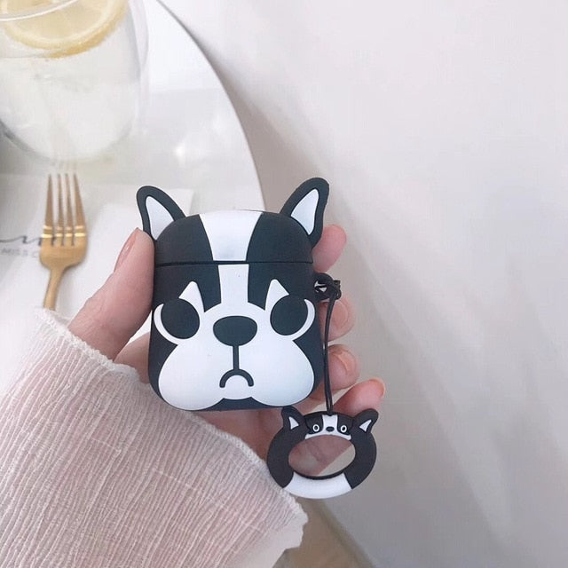 For AirPods Case Cute 3D Cartoon