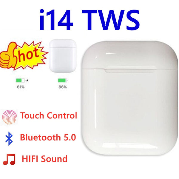 i14 TWS original i 14 tws true wireless headphone earphone