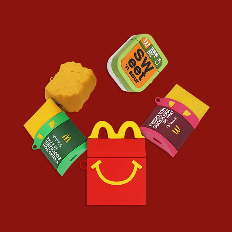 3D Cute McDonald's Earphone Cases For Apple Airpods 1/2