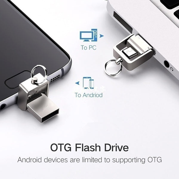 OTG 3 IN 1 pen drive 32GB Micro usb 2.0
