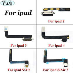 Charging Port Flex Cable Ribbon For iPad 2 3 4 5 air 6 air2