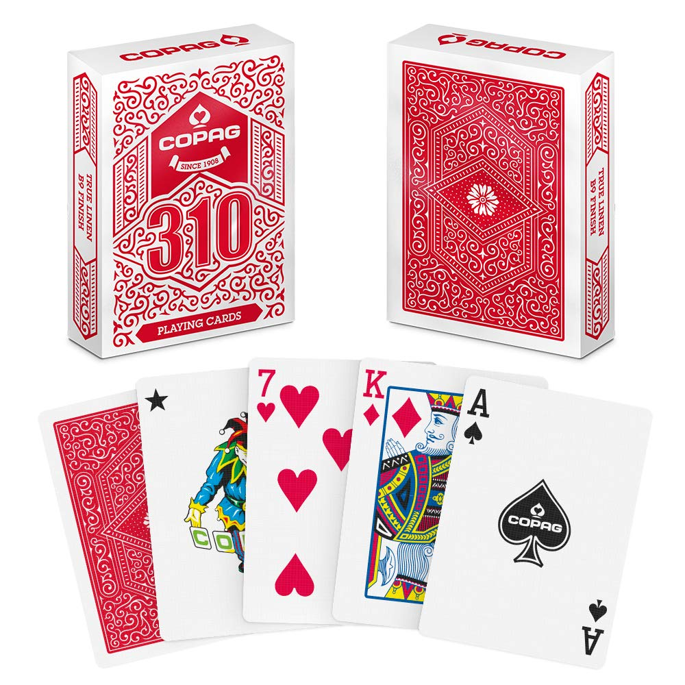 single deck of copag 310 cards