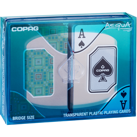 Copag Acqua Bridge Size Standard Index Playing Cards