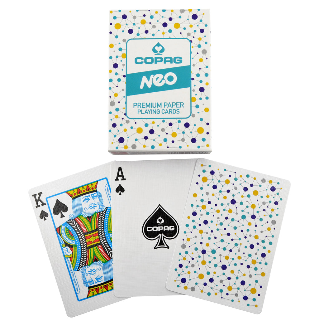 Copag 310 NEO Connect Poker Size Regular Index Paper Single Deck