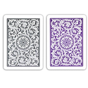Copag 1546 Poker Size Jumbo Index Playing Cards (Purple Grey)
