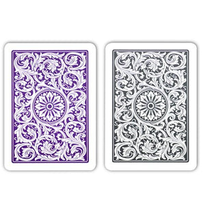 Copag 1546 Poker Size Regular Index Playing Cards (Purple Grey)