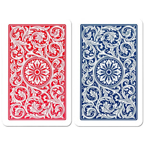 Copag 1546 Bridge Size Jumbo Index Playing Cards (Blue Red)