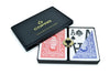 Copag Poker Size Magnum Index Playing Cards (Blue Red)