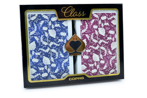 Copag Class Series Bridge Size Jumbo Index Playing Cards Natural