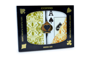 Copag Gold Series Bridge Size Jumbo Index Playing Cards Saraswati