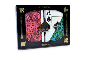 Copag Gold Series Bridge Size Jumbo Index Playing Cards Aldrava