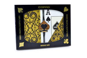 Copag Gold Series Bridge Size Jumbo Index Playing Cards Iluminura