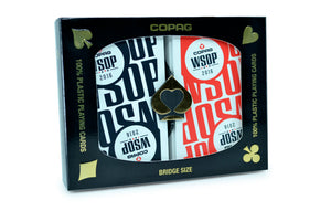 WSOP Bridge Size Regular Index Playing Cards 2016 Main Event