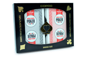 Copag WSOP Bridge Size Regular Index Playing Cards 2018
