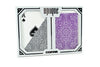 "Copag ""Unique"" Poker Size Regular Index Playing Cards Purple/Grey"