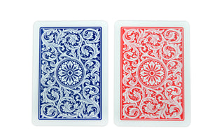 Copag 1546 Poker Size Regular Index Playing Cards (Blue Red)