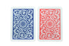 Copag 1546 Poker Size Jumbo Index Playing Cards (Blue Red)
