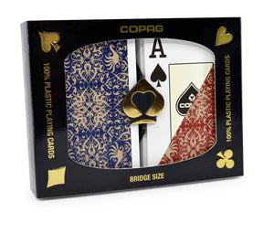 Copag Gold Series Bridge Size Jumbo Index Playing Cards Script