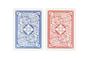Copag Legacy Series Poker Size Jumbo Index Playing Cards (Red Blue)