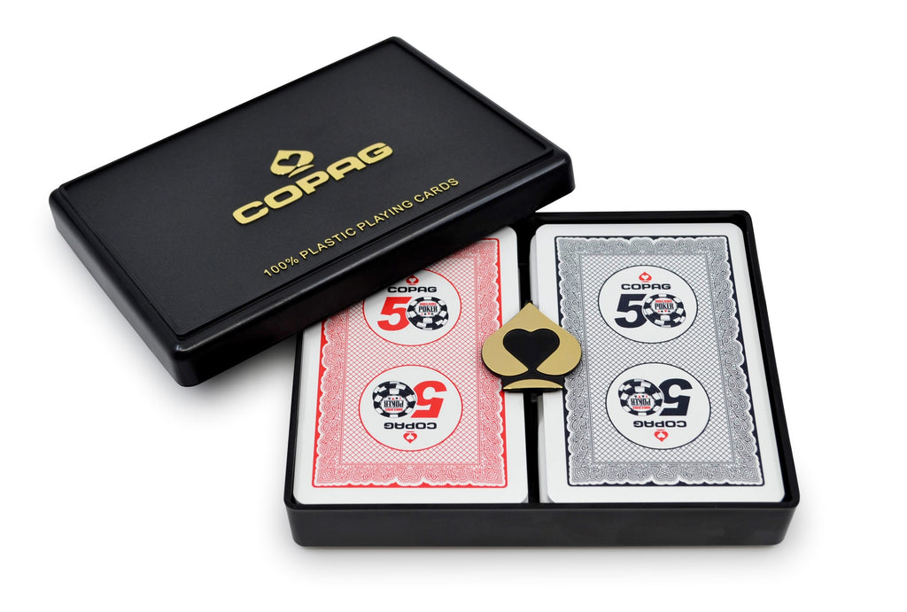 Copag WSOP Bridge Size Regular Index Playing Cards 2019